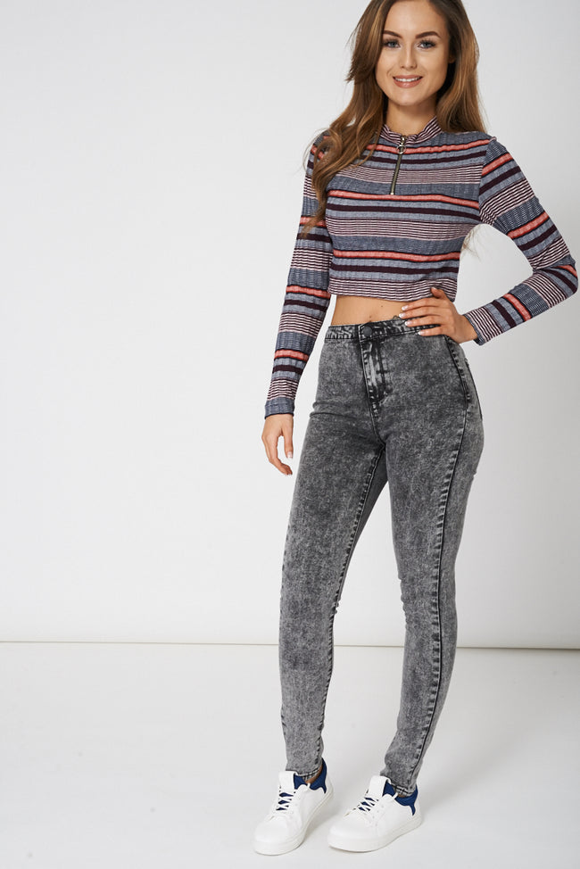 High Rise Super Skinny Jean Ex Brand-Fabulous Bargains Galore