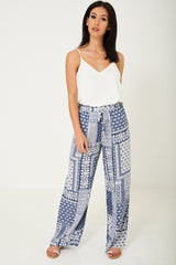 Wide Leg Summer Trousers Ex Brand