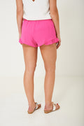 Pink Shorts with Frill Hem Ex Brand-Fabulous Bargains Galore