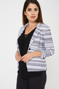Printed Tailored Blazer Ex Brand-Fabulous Bargains Galore