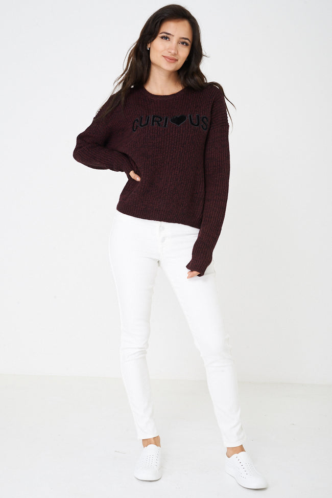 Curious Chunky Knit Jumper-Fabulous Bargains Galore