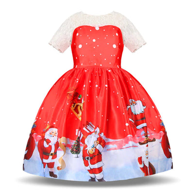 Cute childrens christmas dresses 3-10 years-Fabulous Bargains Galore