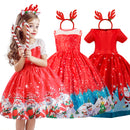 Cute girls xmas party dress 3-10 years-Fabulous Bargains Galore