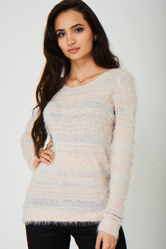 Soft Fluffy Jumper Ex Brand-Fabulous Bargains Galore
