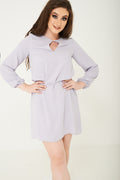Lightweight Dress in Grey Ex Brand-Fabulous Bargains Galore