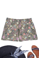 Floral Mid Rise Shorts Ex Brand-Fabulous Bargains Galore