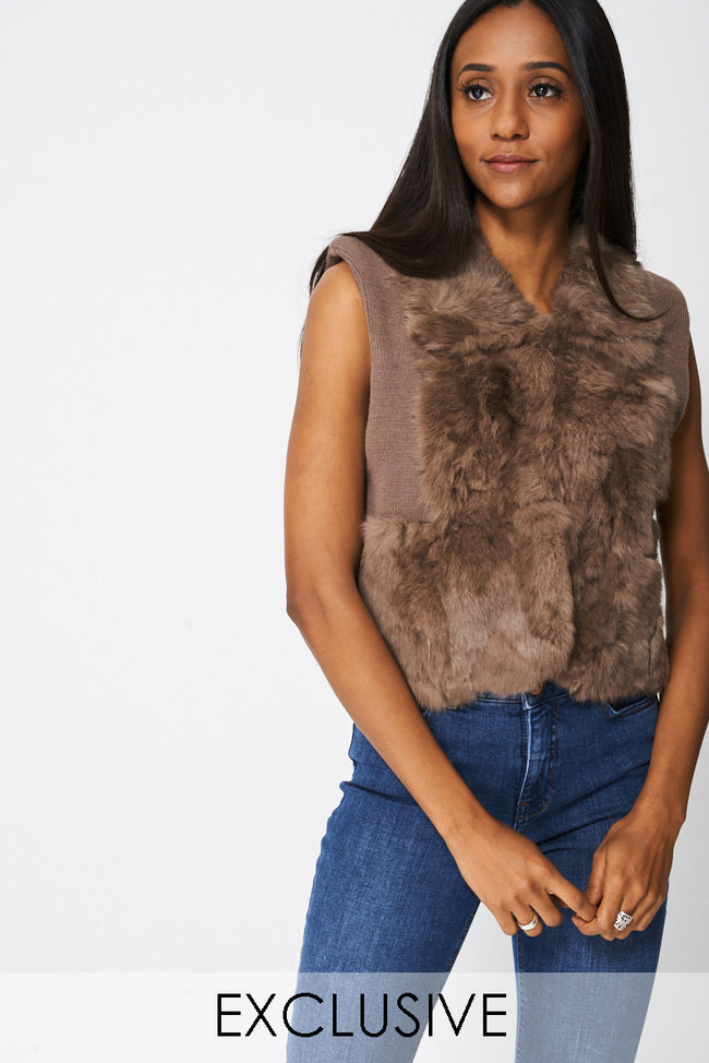 Exclusive Collection Fur Gilet-Fabulous Bargains Galore