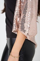Pink Sequin Cape-Fabulous Bargains Galore