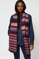 Multi-Coloured Striped Scarf-Fabulous Bargains Galore