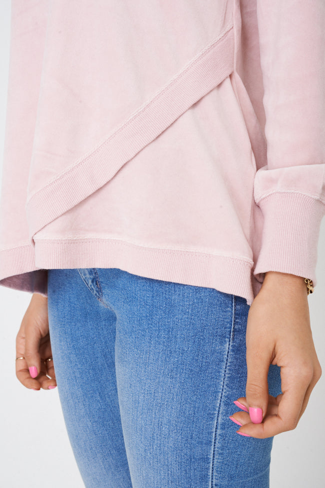 Pink Velvet Jumper-Fabulous Bargains Galore