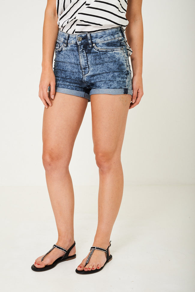 High Waist Denim Shorts Ex Brand-Fabulous Bargains Galore