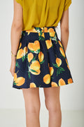 Skater Skirt in Lemon Print-Fabulous Bargains Galore