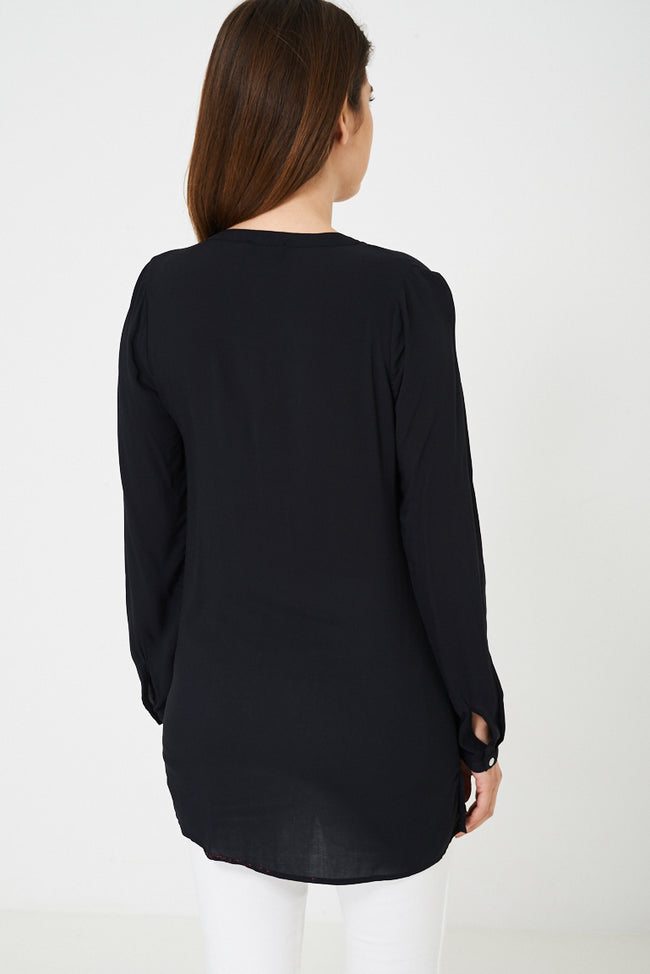 BIK BOK Lightweight Black Shirt-Fabulous Bargains Galore