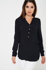 BIK BOK Lightweight Black Shirt