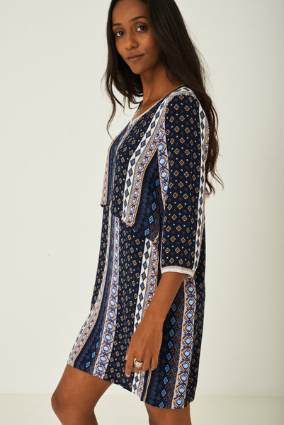 Printed Casual Dress