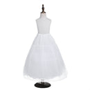 Flower girl full length petticoat with drawstrings-Fabulous Bargains Galore