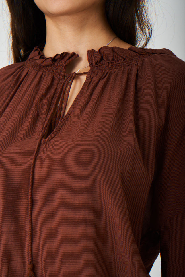 Brown Lightweight Top Ex Brand-Fabulous Bargains Galore