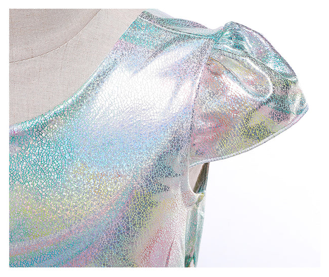 Rainbow sequin dress girl up to age 10 years-Fabulous Bargains Galore