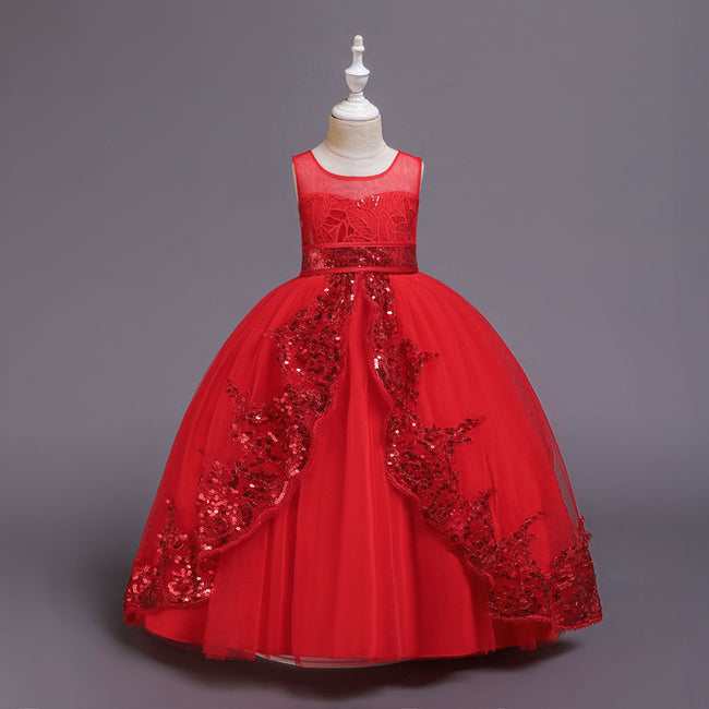 Little girl white ball gowns up to age 16 years-Fabulous Bargains Galore