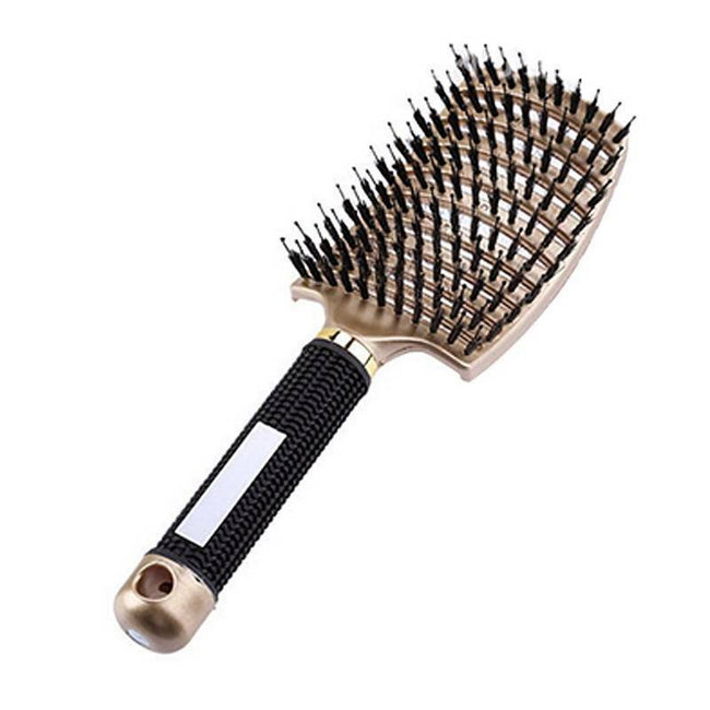 Pink tangle free hair brush-Fabulous Bargains Galore