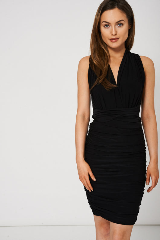 Black Convertible Dress-Fabulous Bargains Galore