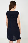 Navy Mom Dress Ex Brand-Fabulous Bargains Galore