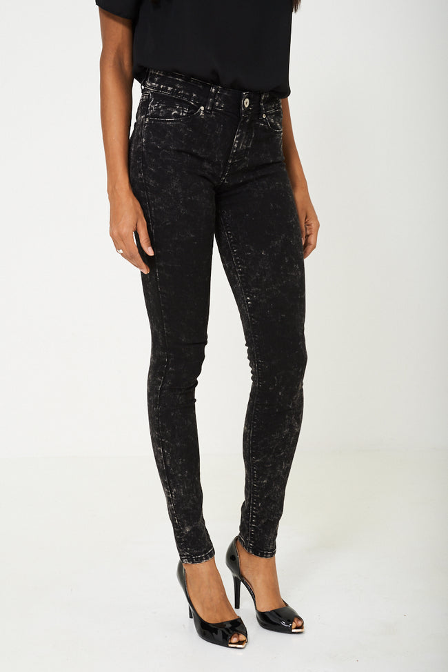 Jean with Acid Wash Black Ex Branded-Fabulous Bargains Galore