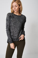 Loose Fit Multi Knit Jumper Ex-Branded