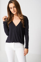 Drape Crossover Top Ex-Branded