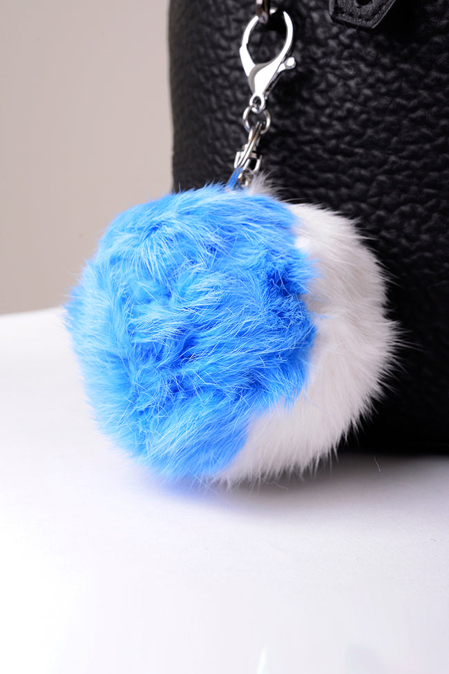 Pom Pom Keyring-Fabulous Bargains Galore