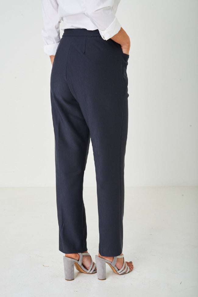 Tailored Grey Straight Leg Trousers-Fabulous Bargains Galore