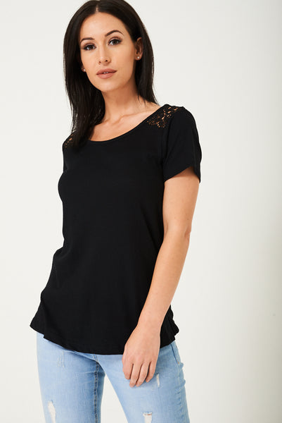 Black Plain Top Ex Brand