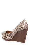Animal Printed Wedge Shoes-Fabulous Bargains Galore