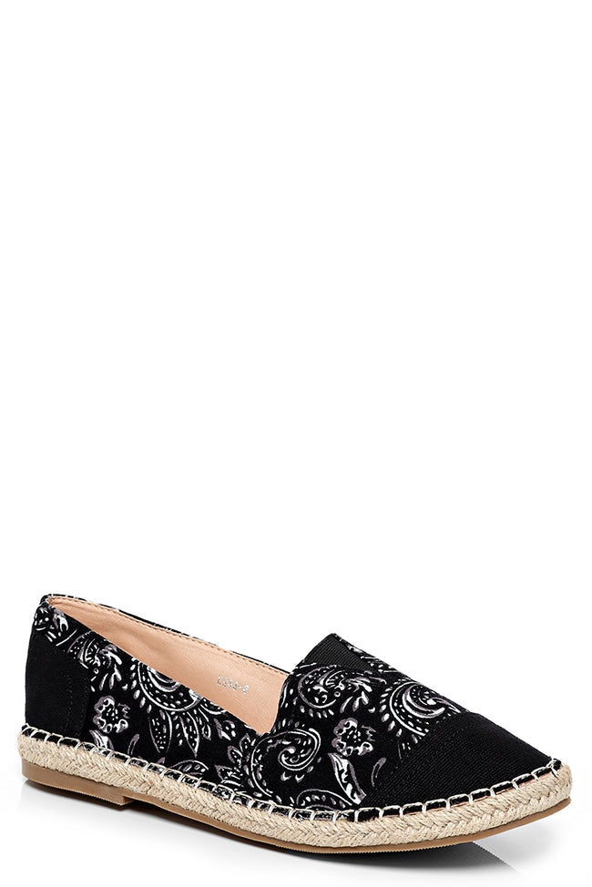 Monochrome Espadrilles-Fabulous Bargains Galore