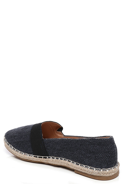 Dark Wash Navy Espadrilles-Fabulous Bargains Galore