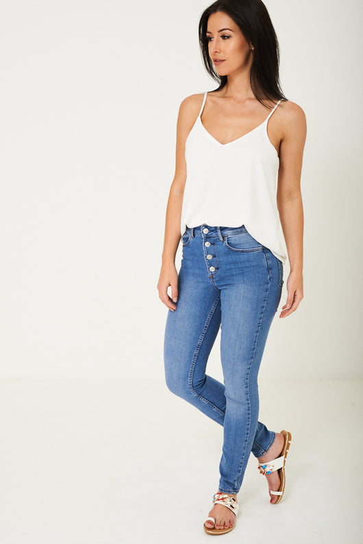 Blue Skinny Jeans Ex Brand-Fabulous Bargains Galore