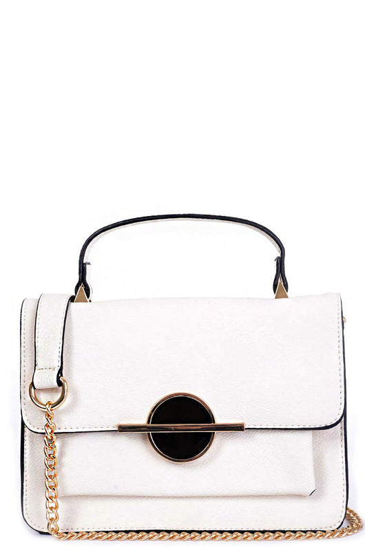 Small Cream Shoulder Bag-Fabulous Bargains Galore