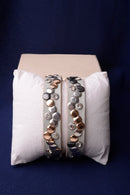 Vintage Inspired Grey Leather Bracelet-Fabulous Bargains Galore