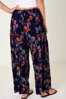 Wide Leg Pleated Trousers-Fabulous Bargains Galore