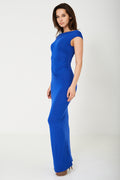 Maxi Blue Dress-Fabulous Bargains Galore