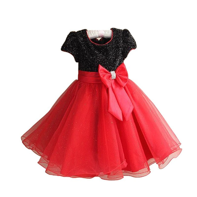 Little girl black and red dress up to age 7 years-Fabulous Bargains Galore