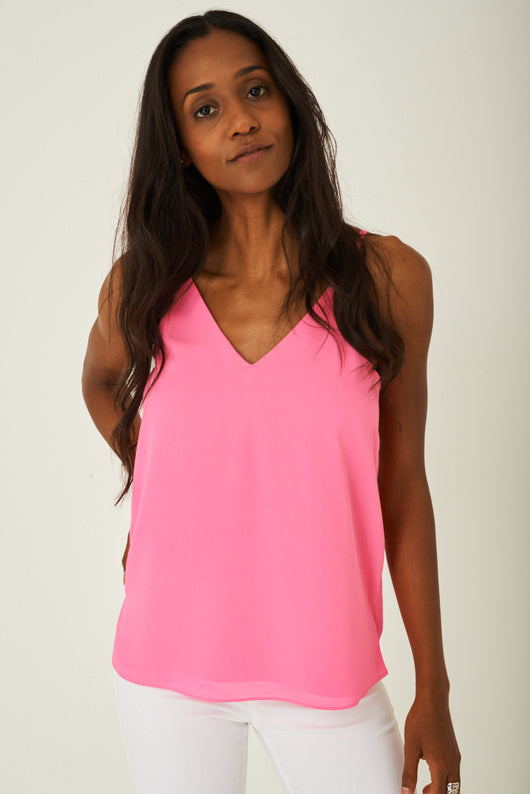 Cami Top in Pink-Fabulous Bargains Galore