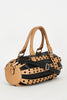 Black And Beige Handbag