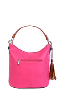 Small Bag in Pink with Tassel Detail-Fabulous Bargains Galore