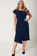PLUS Midi Drop Hem Dress-Fabulous Bargains Galore