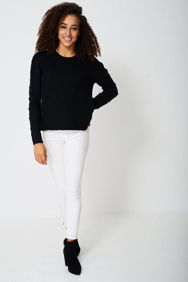Chunky Textured Jumper Ex-Branded-Fabulous Bargains Galore