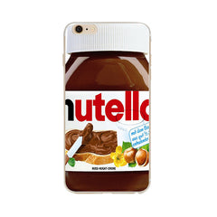 Nutella Design Soft Ultra Thin Transparent iPhone 7 Case