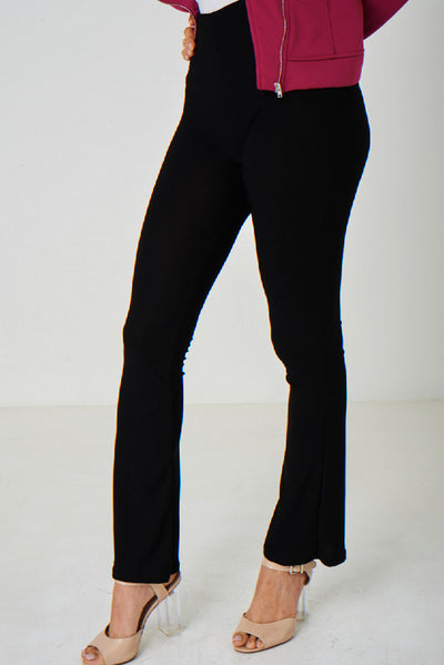 Boot Flare Black Trousers