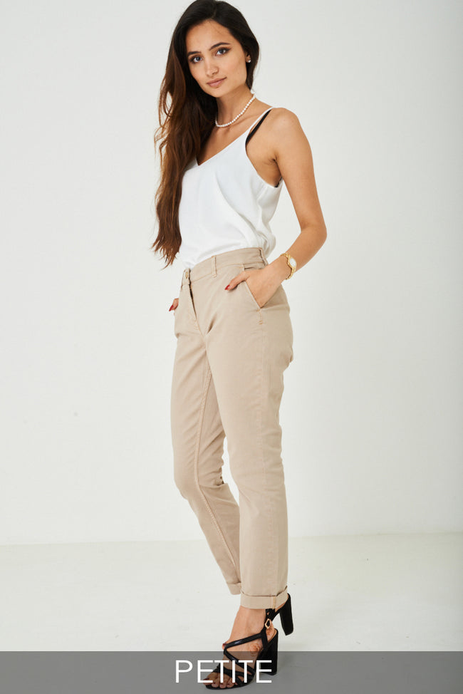 Mom Jeans in Beige Ex Brand-Fabulous Bargains Galore