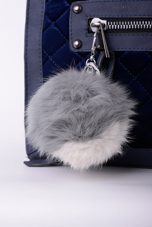 Pom Pom Keyring - Fabulous Bargains Galore